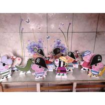 Pepa Pig Pirata- 10 Displays De Mesa