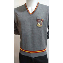 Suéter Harry Potter Blusa Gryffindor Grifinoria Cinema Geek