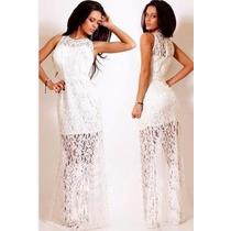 Leve 2 Lindos Vestidos P Festa Noite Balada Casamento Renda