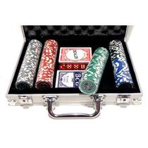 Poker Chip Set 200 Oficial Apex Holografica 11,5g