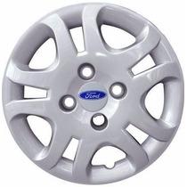 Jogo De Calota Fiesta Sedan 2011/2013 Ford Aro 14 Cod 8026