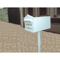 Caixa De Correio Tipo Americana, Pedestal Condomínios Cartas