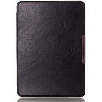 Case Luxo Kindle (7ºgeração), Capa Com Logotipo, Imã E Onoff