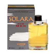 Solara For Men, Edt 100, By Lomani Paris, Perfume Importado