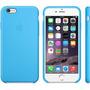 Capa Apple Silicone Cor Azul Claro Iphone 6 (5.5) Plus
