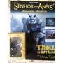 Miniatura Eaglemoss O Senhor Dos Anéis:troll De Batalha Novo
