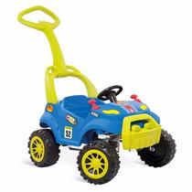 Carro A Pedal Smart Passeio Azul Bandeirante
