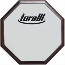 Pad Estudo Rudimento Baterista Torelli Nº10 Face Dupla Ta554