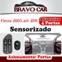 Kit Vidro Eletrico Fiesta 03 A 11 4 Portas Dianteira Sens