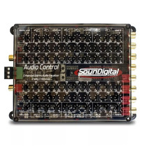 Equalizador Crossover Soundigital Audio Control 3 Vias