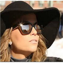Oculos De Solchanel Preto Com Lente Prata Espelhado