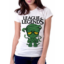 Camiseta Amumu Game League Of Legends Baby Look