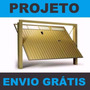 Projeto Portão Basculante +1800 Modelos Portões Grade Escada