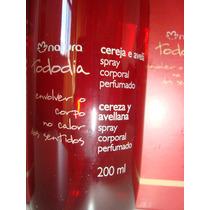 Desodorante Spray Corporal Cereja E Avelã 200 Ml