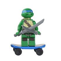Leonardo Tartaruga Ninja Minifigures Lego Compatível Cod 060