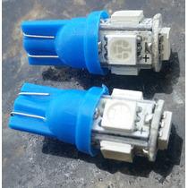 Lampada Automotiva Kit Com 2 Unidades Cor Azul