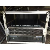 Amplicador Behringher Ep 4000 E Equalizador Fbq3102 Behringh