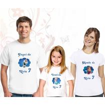 Camiseta Frozen Personalizada