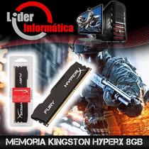 Memória Gamer Hyper Fury Kingston (1 Pente) 8gb 1600