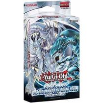 Yugioh Deck Saga Do Dragão Branco De Olhos Azuis - Barato