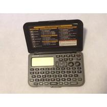 Agenda Calculadora Sharp Memo Master Alarm 600