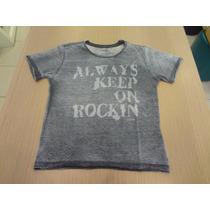 Camisa Ellus Kids Devore Always Keep Classic - Cinza