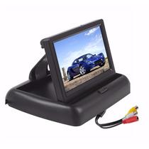 Tela Monitor Veicular 4.3 Vídeo Lcd Para Camera