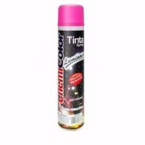 Kit C/ 6 Latas Tinta Spray Chemicolor Luminosa Rosa Pink