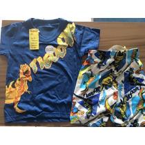 Pijama Infantil Tigor T. Tigre Original Frete Grátis