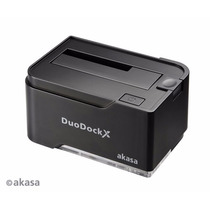 Dock Hd 2.5 3.5 Duodock 2s Usb 3.0 - Ssd E Sata Akasa