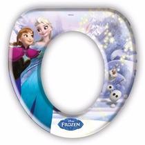 Assento Vaso Sanitário Infantil Almofadado - Frozen