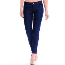 Calça Jeans Feminino Basica Estilo Jovem Tecido Leve Rh1875