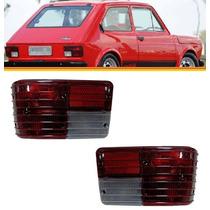 Par Lanterna Traseira Fiat 147 76 77 78 79 80 81 82 Bicolor
