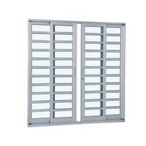 Porta De Alumínio De Correr 1,8 X 2,10 M 4 Folhas