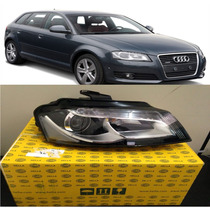 Farol Audi A3 2010 2011 2012 2013 Led P/ Xenon Original Dir