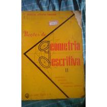 Livro Noções De Geometria Descritiva - 2 Vol. - Virgilio A