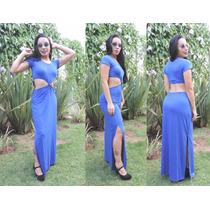 Vestido Nozinho Longo Kit Com 6 Peças Moda Instagram Panicat
