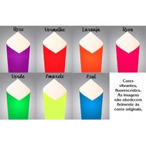 Papel Fluorescente A4 - 180g/m2 Com 50 Folhas