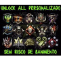 Unlock All Bo2 Personalizado Ps3 - Escolha Tudo + Rank Liga!
