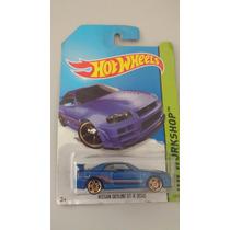 Nissan Skyline Gt-r (r34) Hot Wheels