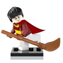 Boneco Lego Harry Potter Com Vassoura Quadribol