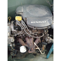 Motor Renault 1.6 8v Flex Sandero Logan C/ Nota Fiscal Baixa
