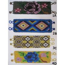 Pulseira Bracelete Boho Chic Guatemala Miçangas Etnico Mão