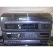 Som 3 X 1 Gradiente Stério Music System Ms 100