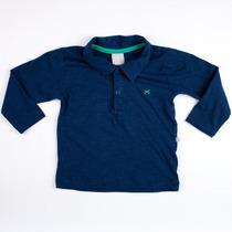 Camiseta Polo Hering Kids Masculina 5ccqaw910 Original+n.f