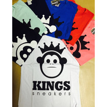 Kit Camisetas Kings Sneakers 10 Unidades Super Promoção