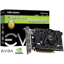 Placa De Video Geforce Nvidia 9800 Gt 1gb Ddr3 256 Bits