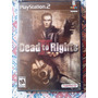 Dead To Rights 2 Ps2 Playstation 2 Psx Ação 3° Pessoa