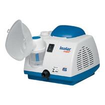 Inalador Nebulizador Ns Compressor Inalar Compact Com Filtro