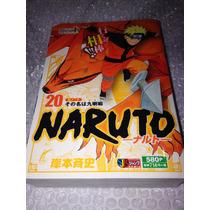 Livro\mangá Naruto 3 Em 1 Volume 20 - Japão - 31 Capítulos